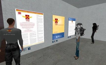 Ilot des droits de l'homme sur Second Life / Ile Verte
