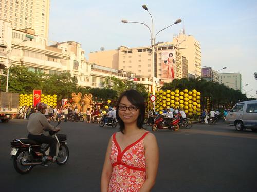 Dau duong hoa Nguyen Hue