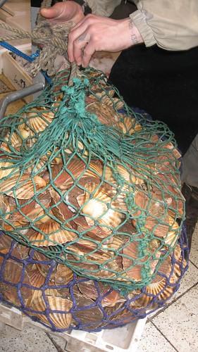LONDRES 18 de Marzo de 2008 Seafood in Borough