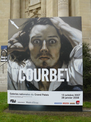 Courbet poster