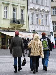 En la plaza vieja de Praga