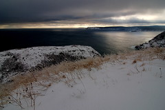 Looking Towards Cape Spear from Signal Hill