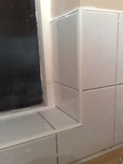 All done bar the grouting!