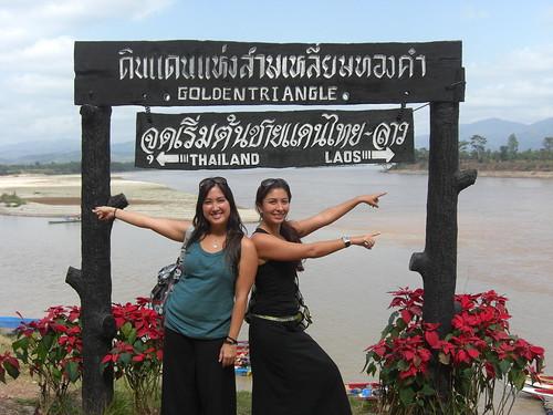 thailand, laos, and burma all meet here