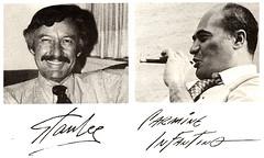 Stan Lee e Carmine Infantino - Clique para ampliar