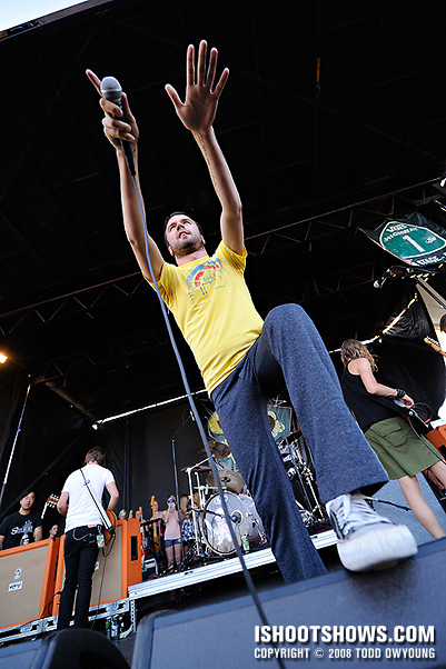 Say Anything @ Warped Tour