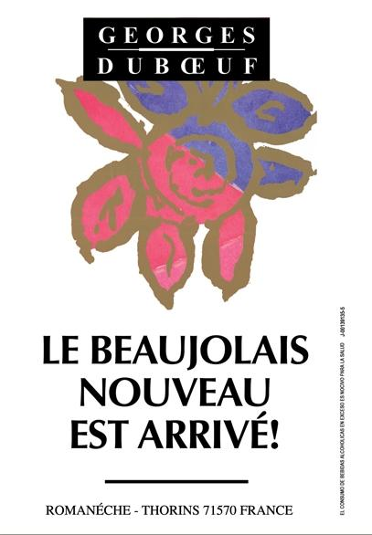 Le Beaujolai Nouveau est Arriv?!