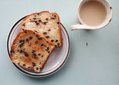 Chocolate Bread Delight Breakfast
