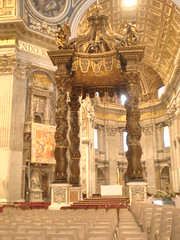 St. Peter's tomb inside the Vatican by npadgett1890
