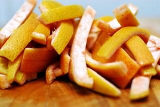 grapefruit peels, step 6