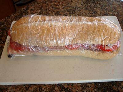 It Wraps the Sandwich