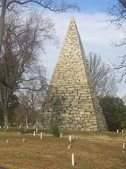 Confederate Soldier Monument at Tredegar