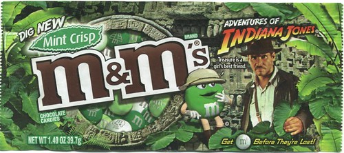 Mint Crisp M&Ms