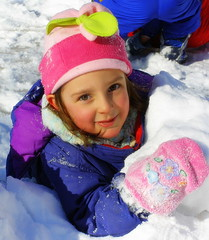 Snow Play in Cummington, MA