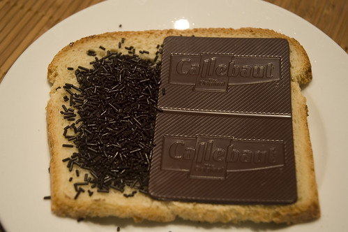 Jacques Callebaut With Bread