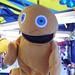 Zippy at the funfair, Heaton Park