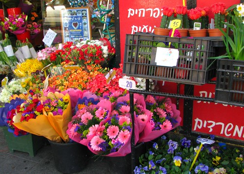 Flower Stall on Agrippas Street