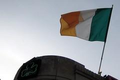Irish flag at 4 P's
