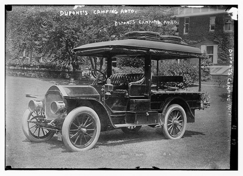 Dupont's camping auto (LOC)