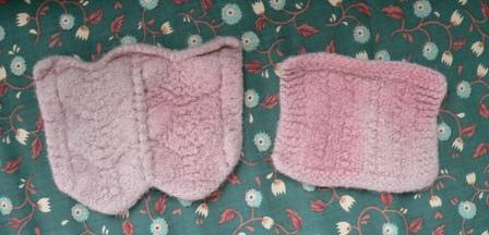 Felting (after)