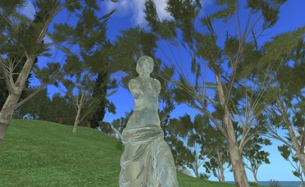 Second Life : Ile Verte by Tatiana Salomon (janvier 2008)
