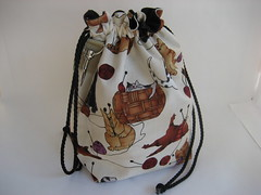 White Willow sock bag