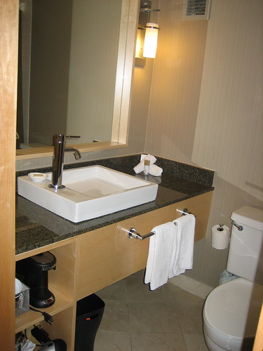 Hyatt Regency bathroom