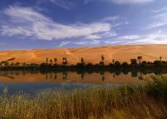 Umm al-Maa Lake, Ubari