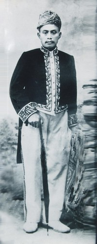 H. Muh Aruji P. Bermani Ulu gelar Pangeran Tiang Alam 1910