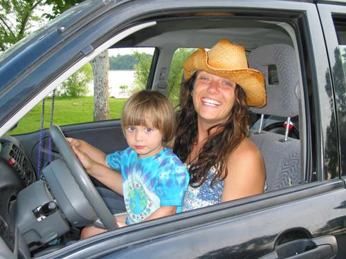 Crazy mom driver