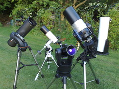 Telescope shoot out