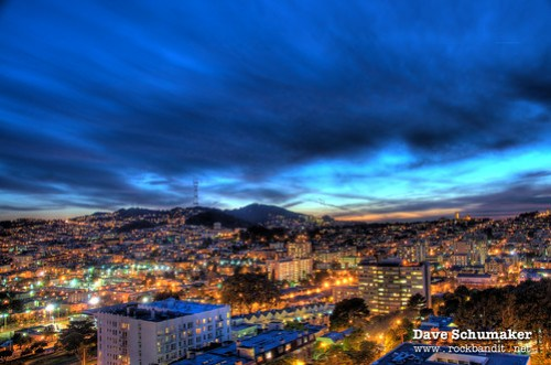 San Francisco - Dusk HDR