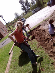 Digging out the Preschool Playground