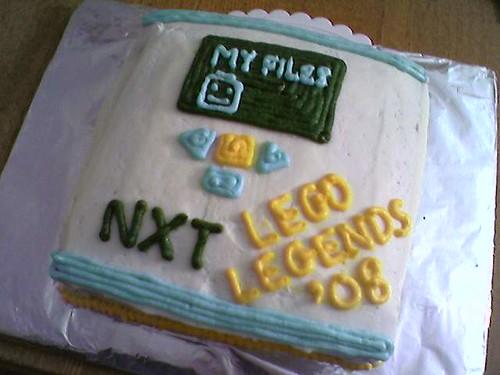 LEGO NXT cake