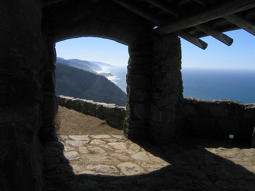 Day 08 - View from Cape Perpetua Shelter