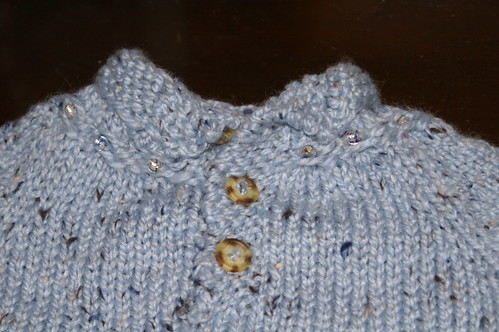 Baby Pullover Tweed