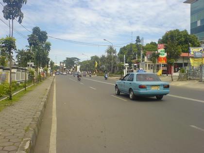 mogok angkot Bandung
