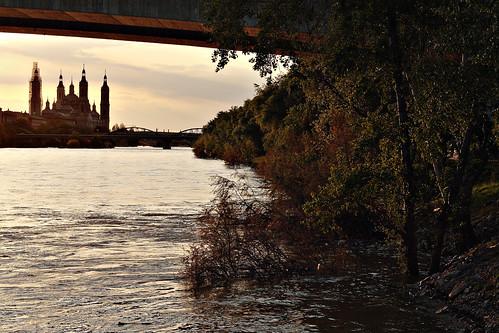 El Pilar tras el puente