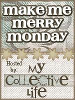 Make me merry Monday badge