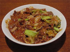 Spicy boiled beef