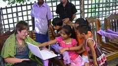 Rural Bangladesh - Kids, Computers, and Macs 1...