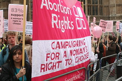 Abortion Rights banner