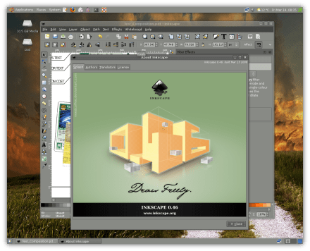 Inkscape v0.46 Final Version