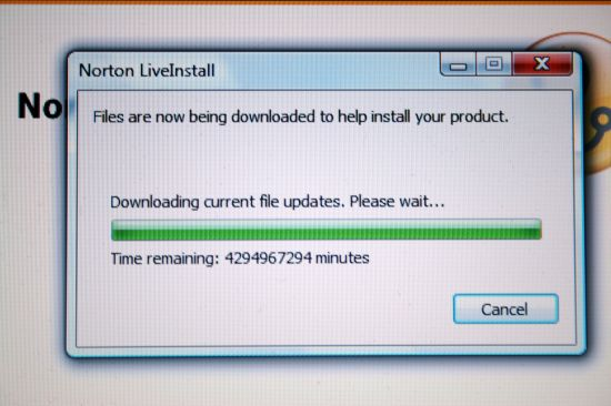 Norton Install