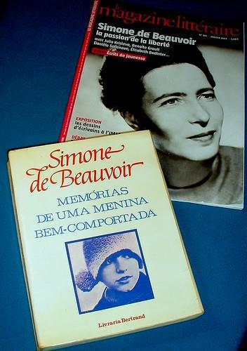 Simone (Lucie-Ernestine-Marie Bertrand) de Bea...