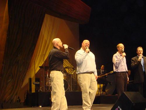 Me, Ben Ward, Kirk Moser, Cal Rychener