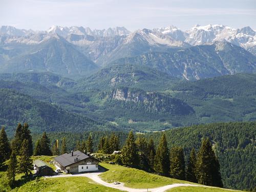 Alpen Alps Berge Mountains Bayern Bavaria Germany Deutschland by hn.