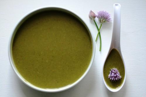 Soup serving