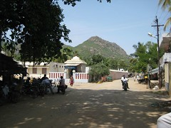 Renuka Parameswari Temple - Back side