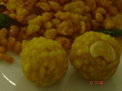 Daily Meals-Boondi Ladoos